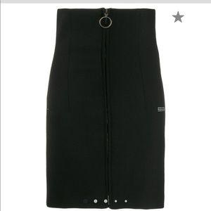 Off- White high waisted skirt